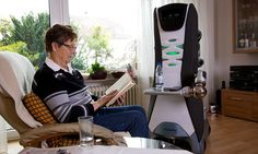 Is the age of robotic BUTLERS upon us? | Importantly, the machine does far more than fetching and carrying, for it has been programmed to be a friend, providing emotional support to someone living alone.