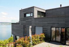 House Frohburgstrasse, Wollerau | Schmid Partner Architects, Bach-Wollerau | Oko Skin Facade | Anthracite