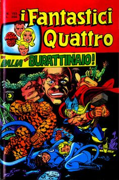Cover for I Fantastici Quattro (Editoriale Corno, 1971 series) #153 (Novembre 1976)