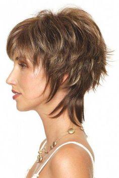 Best Womens Hairstyles For Fine Hair – HerHairdos Short Choppy Hair, Short Shag Hairstyles, Short Hair With Layers, Layered Haircuts, Short Hairstyles For Women, Short Hair Cuts, Teenage Hairstyles, Hairstyle Short, Black Hairstyles