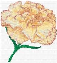 Výsledek obrázku pro cross stitch pattern free Orchid