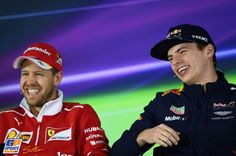 Sebastian Vettel, Max Verstappen, Ferrari, Formule 1 Grand Prix van China 2017, Formule 1