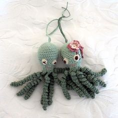 Crochet Octupus for premature babies