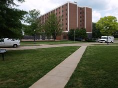 i think this is the old high rise east dorm