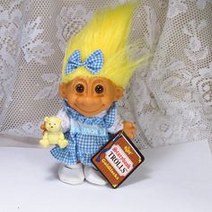 Vintage 1970's Russ Storybook Trolls collectible by garagesale715, $35.00