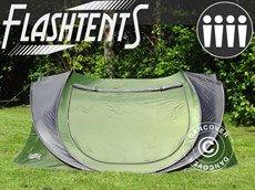 POP UP camping tent, Flashtents 4 persons, 205cm(W)