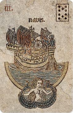 3 36. The Ship (Navis) - Silson Lenormand by Neil Lovell Fortune a89de80e63e1a