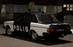 Volvo 244 GL Polisbil