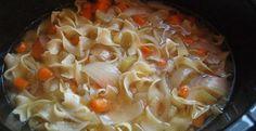 Crockpot Chicken Noodle Soup | Inspired Dreamer