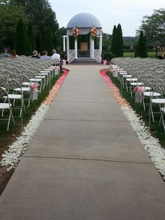Ombre Wedding At Blackhaven Gardens