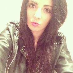 #me #pout leather jacket off out :)