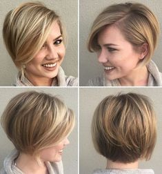 Stylish and Elegant Short Lob Hairstyles 2018 for Women