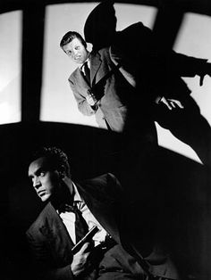 It doesn't get much more Black  White than Film Noir ~ D.O.A. (1950)