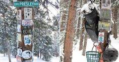 OS SANTUÁRIOS DE ASPEN MOUNTAIN - Tucked in the woods surrounding the many ski areas around Aspen, in the US state of Colorado, are countless shrines and memorials. Hidden am...