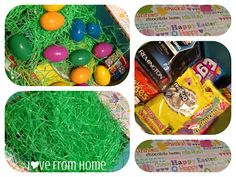 L♥ve From Home: Care Package #12: Easter.  An Easter care package to a soldier deployed overseas.