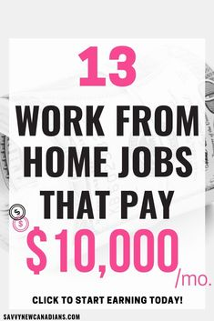 If you are looking for ways to make money while working from home, you have come to the right place. These 13+ work from home jobs do not require a lot of capital and you can do them without having prior experience. Simply put, these side hustles will pay you from anywhere in the world. Start your own business and start earning. #workfromhome #workfromhomejobs #workfromhomeopportunities #sidehustles #jobsthatpay #makemoneyonline #makemoneytips #sidebusiness #earnmoneyonline Make Real Money, Ways To Earn Money, Earn Money From Home, Earn Money Online, Make Money Blogging, Money Tips, Money Hacks, Money Fast, Saving Money