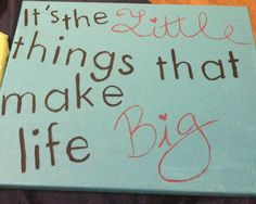 Big little love :)