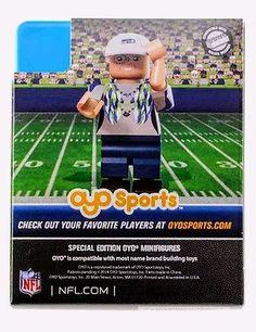 Mama Blue Seattle Seahawks OYO Sports Player Minifigure - NFL #mamablue #seahawks