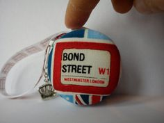 Macaroon Coin Purse London Bond Street Post by TheHomemadeHaven, £14.00