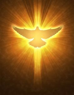 The dove is a symbol of the Holy Spirit that comes down form Heaven and acts as a guide for our . God and Jesus Christ Holy Spirit Images, Saint Esprit, Prophetic Art, Spirited Art, Jesus Pictures, Art Pictures, Holy Ghost, Patron Saints, Christian Art