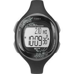 Timex Mid-Size T5K486 Health Tracker Watch. Health-oriented watch with Walk Sensor and Diet Diary. Automatically records, steps, distance, calories, and active time each day. Discretely stores number of calories or units consumed each meal. Displays cumulative daily activity; alarm sounds when you're halfway to goal. 7-day activity log; countdown timer; water-resistant to 50 meters.