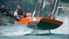 Quantensprung: das foilende Kielboot - Foiling with Quant 23 - Sailing Yacht Design, Boat Design, Sailing Dinghy, Sailing Ships, Utility Boat, Sail Racing, Small Sailboats, Cabin Cruiser, Yacht Boat