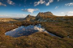 Overland track to Cradle mountain, Tasmania