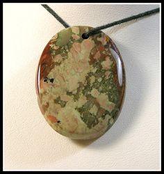 Original Rocky Butte Jasper Focal Bead