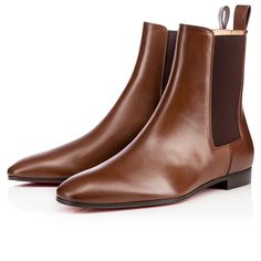 "Be a style master in ""Masterboot."" An all-season chelsea boot in rich havane leather, she is a capsule wardrobe must-have."