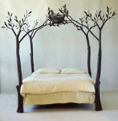 Wouldn't this be the perfect bed for a canarygirl?  I LOVE it.