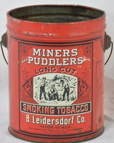Find  Bid On Miners and Puddlers Long Cut Tobacco - Now For Sale At Auction