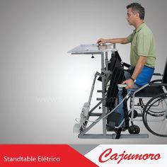 Permite o ortostatismo, de forma ergonômica , favorecendo a circulação, evitando o processo de osteoporose, atrofias de músculos e tendões e permitindo trabalhos e exercícios físicos do tronco, membros superiores, melhorando a capacidade pulmonar.