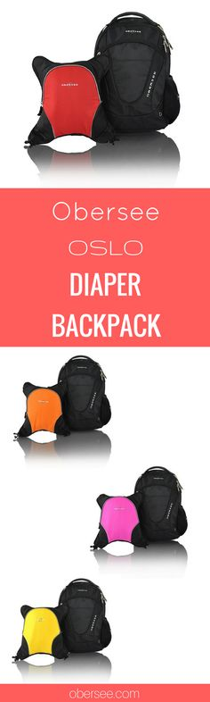 Obersee Oslo Backpack Diaper Bag For Dads And Moms Best Diaper Backpack, Boy Diaper Bags, Black Diaper Bag, Best Baby Bags, Diaper Bag Organization, Baby Boy Swag, Stylish Backpacks, Boy Baby Shower Themes, Baby Gear