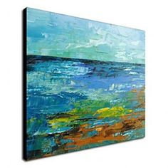 Hand Painted Oil Painting Abstract 1211-AB0137 - WallArtBox