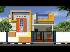 Settings - YouTube Front Elevation Designs, House Elevation, House Front, Beautiful Homes, Sweet Home, House Design, House Styles, Projects, Youtube