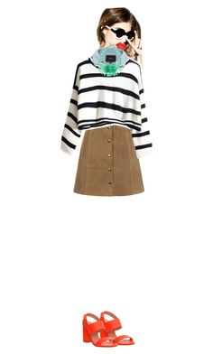 """high fashion stripes"" by camil-lion on Polyvore"