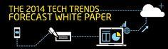 Grab a copy of our 2014 Tech Trends Forecast White Paper | Modis Blog