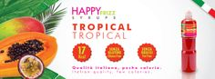 HAPPY FRIZZ SYRUPS TROPICAL Find lots of funny recipes by HAPPY FRIZZ on http://www.shophappyfrizz.com/en/ricette/