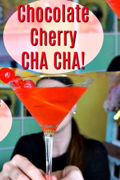 Chocolate Cherry Cha
