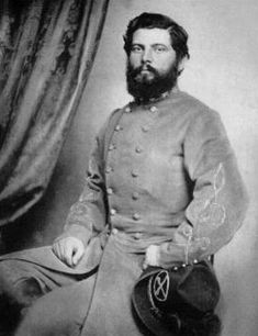 """Thomas Lafayette (Tex) Rosser (October 15, 1836 – March 29, 1910) was a Confederate general during the American Civil War, and later an officer in the Spanish American War and railroad construction engineer. A favorite of J.E.B. Stuart, he was noted for his daring cavalry raids, efficiency in handling combat troops, and tactical brilliance. Rosser was born on a farm called """"Catalpa Hill"""", in Campbell County, Virginia"""