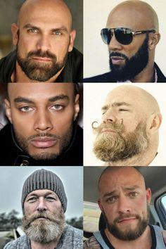 Bald With A Beard