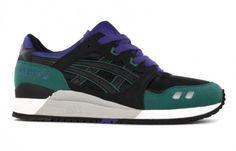 Asics Gel Lyte III Black Purple Shoes Stand, Asics Gel Lyte Iii, Shoes 9ec4b38a4223