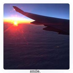"""From @mrs_elezai  The best thing I've heard yesterday on my flight back: """"Thank you for your smile during the flight!""""  It definitely made my day!  La cosa migliore che ho sentito ieri era: """"Grazie per il suo sorriso durante il volo!""""  Hai reso speciale la mia giornata!  Die schönste Sache die ich gestern gehört habe: """"Danke für Ihr Lächeln während des Fluges!"""" Das hat meinen Tag gerettet. #cabincrew #flightattendant #cabincrewlife #crewiser #crewlife #buongiorno #gutenmorgen #goodmorning…"""