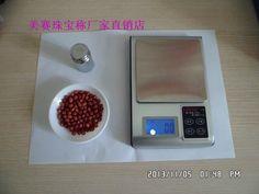 新款 厨房秤不锈钢大秤盘 珠宝称3000克/0.1克台称 电子秤送托盘-淘宝网