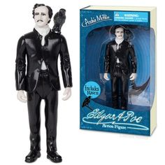 Edgar Allan Poe Action Figure - This is the perfect action figure to creep out all your other action figures!