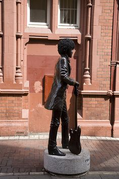 Phil Lynott - Dublin, Ireland.