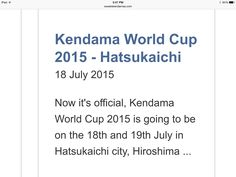 Can't wait! Hiroshima, World Cup, Sick, World Cup Fixtures