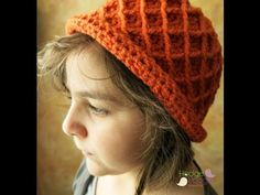 A Girl's Best Friend Diamond Pattern Hat   HodgePodge Crochet