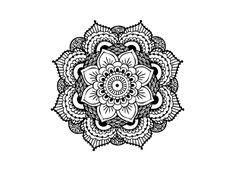 flower mandala designs - Pesquisa Google