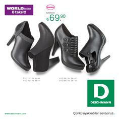 2014-2015 Sonbahar/kış sezonuna ait en güncel ayakkabı modelleri, #MarmaraPark Deichmann'da sizleri bekliyor!